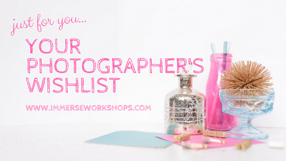 a photographer's wishlist from sparkle society