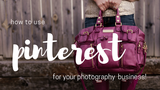 pinterest for a photography business sparkle society
