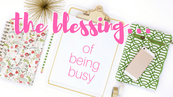 immerse workshops blessing of being busy
