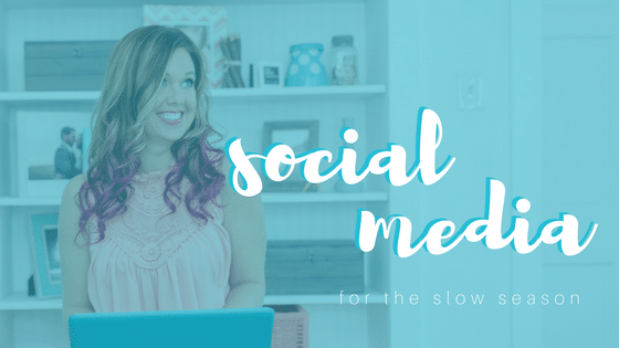 social media for the slow season sparkle society