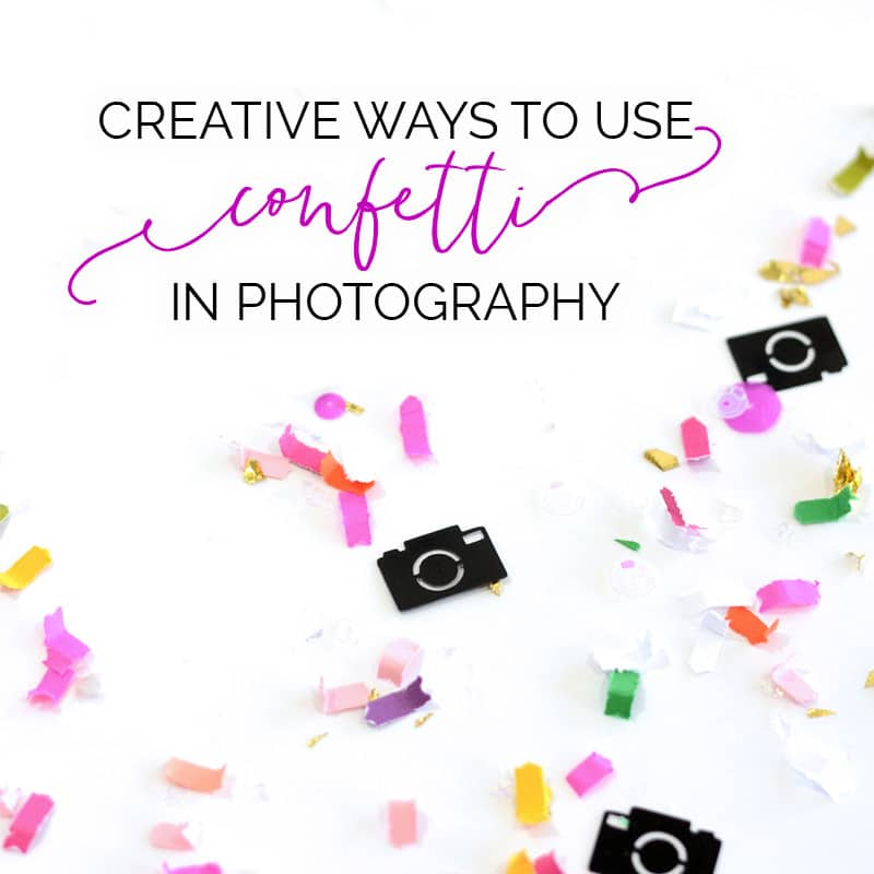 confetti photography sparkle society