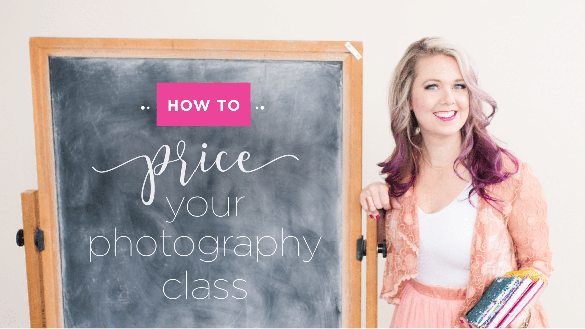 price your photography class